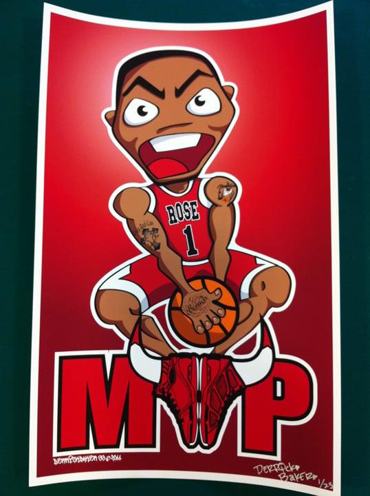 Image of Derrick Rose MVP