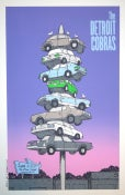 Image of Detroit Cobras Gigposter