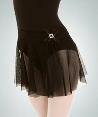 Image of Skirt with Rhinestone Accent