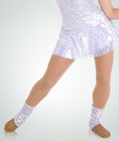 Image of Bodywrappers - Sequined Slouch Socks