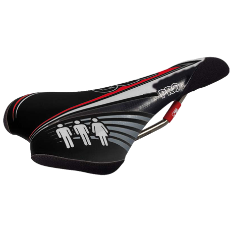 Image of SALE: 40% off Atherton DH / 4X microfibre saddle, hollow titanium rails