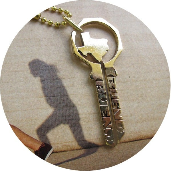 Image of KEY NECKLACE /// DON'T MESS WITH TX