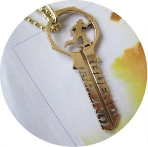 Image of KEY NECKLACE: SURF & SKATE