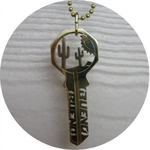 Image of KEY NECKLACE /// OUT WEST