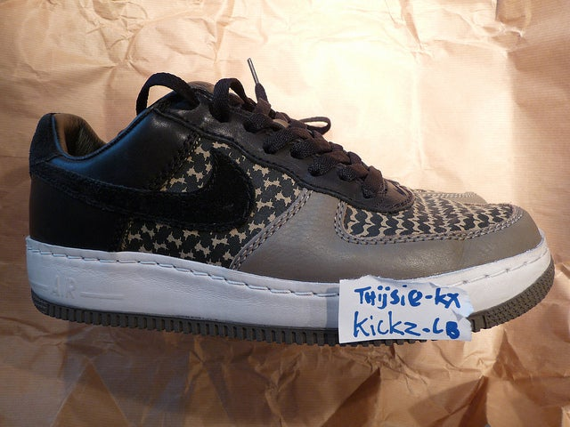 free shipping 0c329 a5b97 Image of Nike Air Force 1 Low Undefeated Grey Black