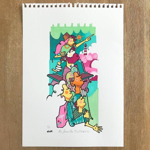 Image of VERSION PAPIER couleurs
