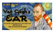 Image of Van Gogh's Ear Organic Catnip CAT TOY Handmade by Oh Boy Cat Toy
