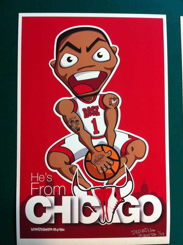 Image of Derrick Rose Chicago