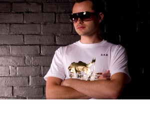 Image of Pure Flowz Apparel Male - White Tee - Gold Design: