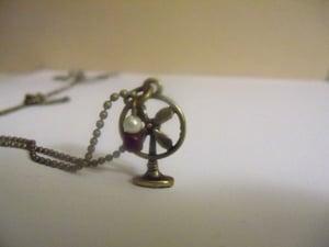 Image of Antique Fan Necklace