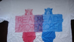 """Image of """"READ MORE"""" Print Tee"""