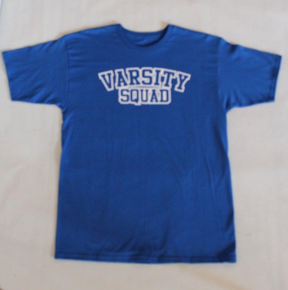 Varsity Squad Tee - OG Logo (Royal Blue/White)