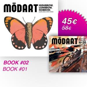 Image of Modart Book #02 + Book #01