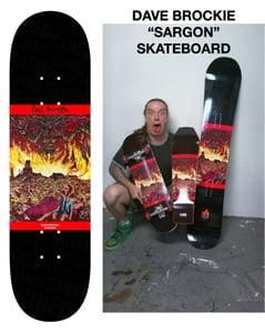 "Image of Dave Brockie ""Sargon"" Skateboard"