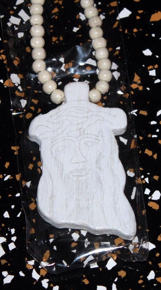 Image of WHITE JESUS PIECE
