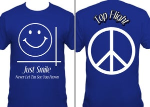 Image of Just Smile: Top Flight Tee