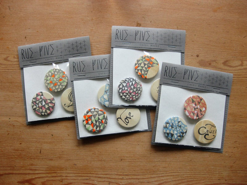 Image of Hand Made Badges