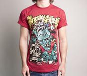 Image of Frankenstein shirt red