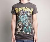Image of Frankenstein shirt black