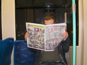 Image of The Comix Reader: Issue one