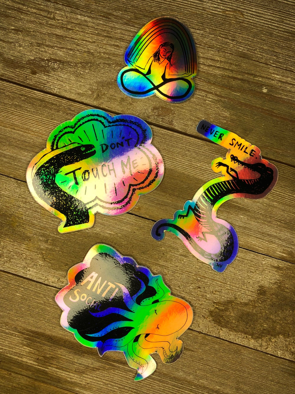 Holographic Stickers (1st Edition)