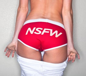Image of NSFW Cotton Boyfriend Brief