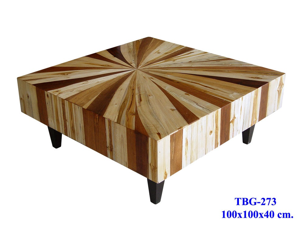 Image Of Mixed Wood Coffee Table Custom Sizes Designs Available Dining Room Living