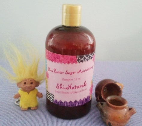 Image of Shea Butter Super Moisturizing Shampoo