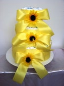 Image of Sunflower Diaper Cake