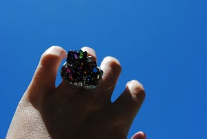 Image of Handmade Crystal Ring