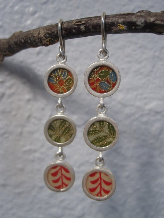 Image of Triple Drop Earrings