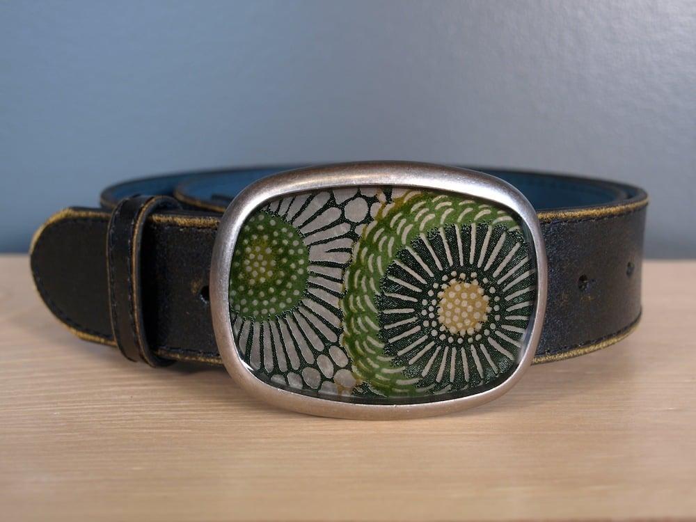 Image of Green Sunflower Belt