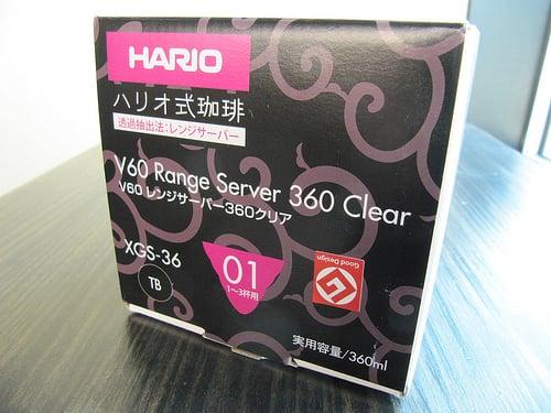 Image of Hario 360 Clear Range Server