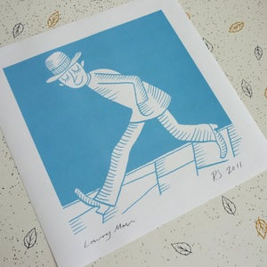 Image of Lowry Man print