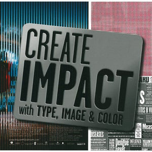 Image of Create impact with type, image & color
