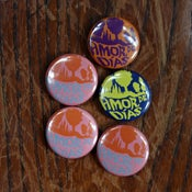 Image of Amor de Días summer 2011 badges