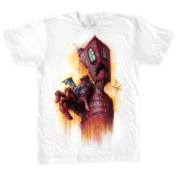 Image of The Breathing Architecture | by Alex Pardee | T Shirt