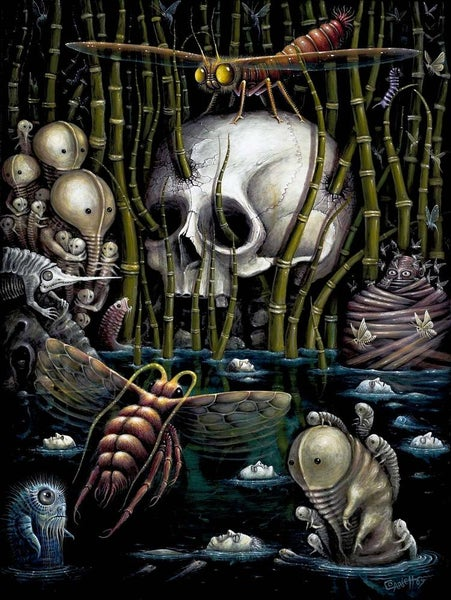"Image of MEMENTO MORI ~ 18 x 24"" Open Signed Edition"