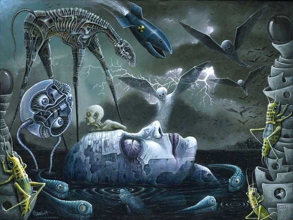 """Image of DREAMS and NIGHTMARES • 18 x 24""""  Signed Edition"""