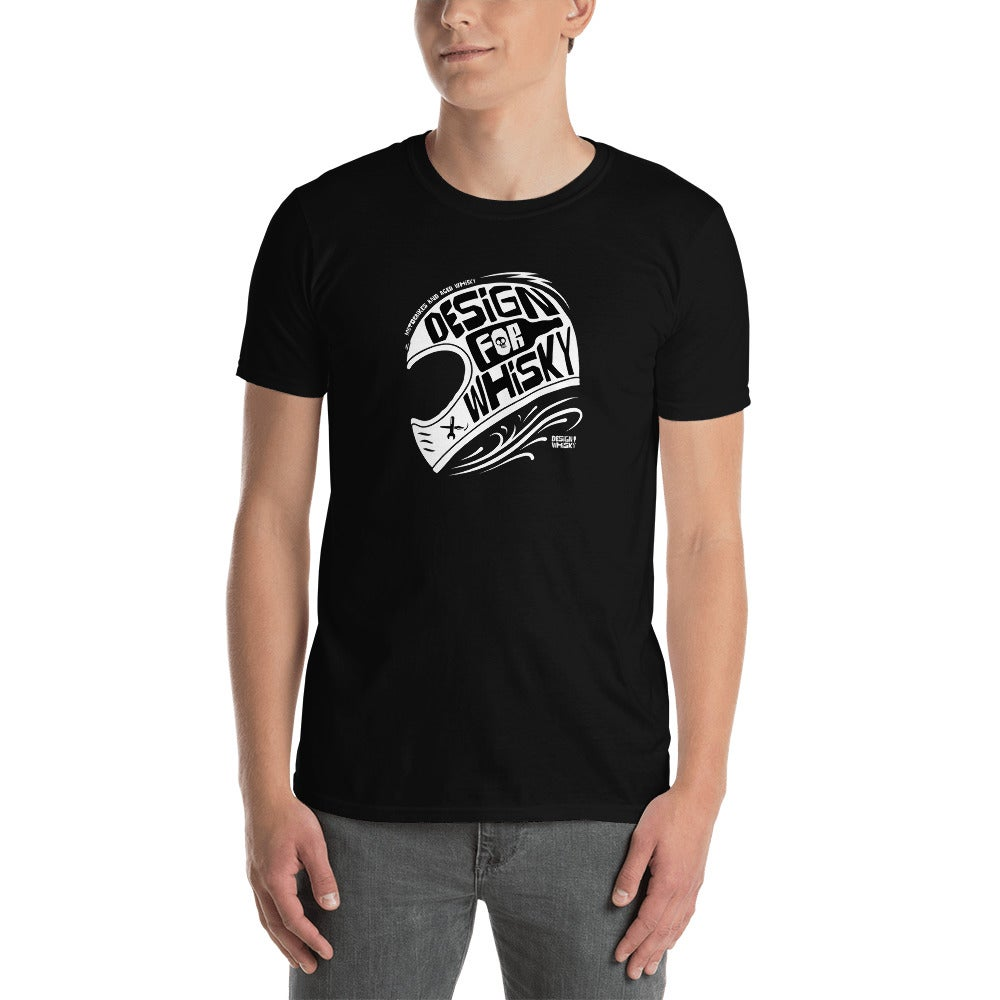 Design For Whisky Helmet Unisex T-Shirt