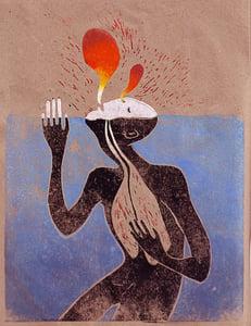 Image of Lungs - Digital Print