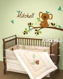 Koala Bear Wall Sticker Decal Nursery Kids Room Baby KK112