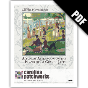 Image of No. 048 -- A Sunday Afternoon on the Island of La Grande Jatte {PDF Version}
