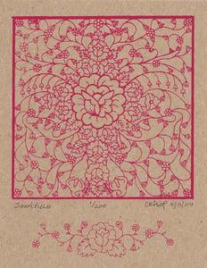 Image of Limited Edition Print - Sacrificio