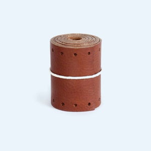 Image of Long Gropes Bar Grips - Brown