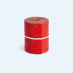 Image of Long Gropes Bar Grips – Red