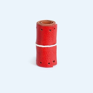 Image of Short Gropes Bar Grips - Red
