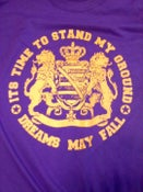 Image of Stand Your Ground T-Shirt - Purple