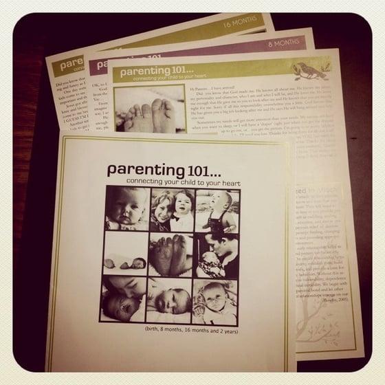 Image of Parenting Resource 101  [printed copy]