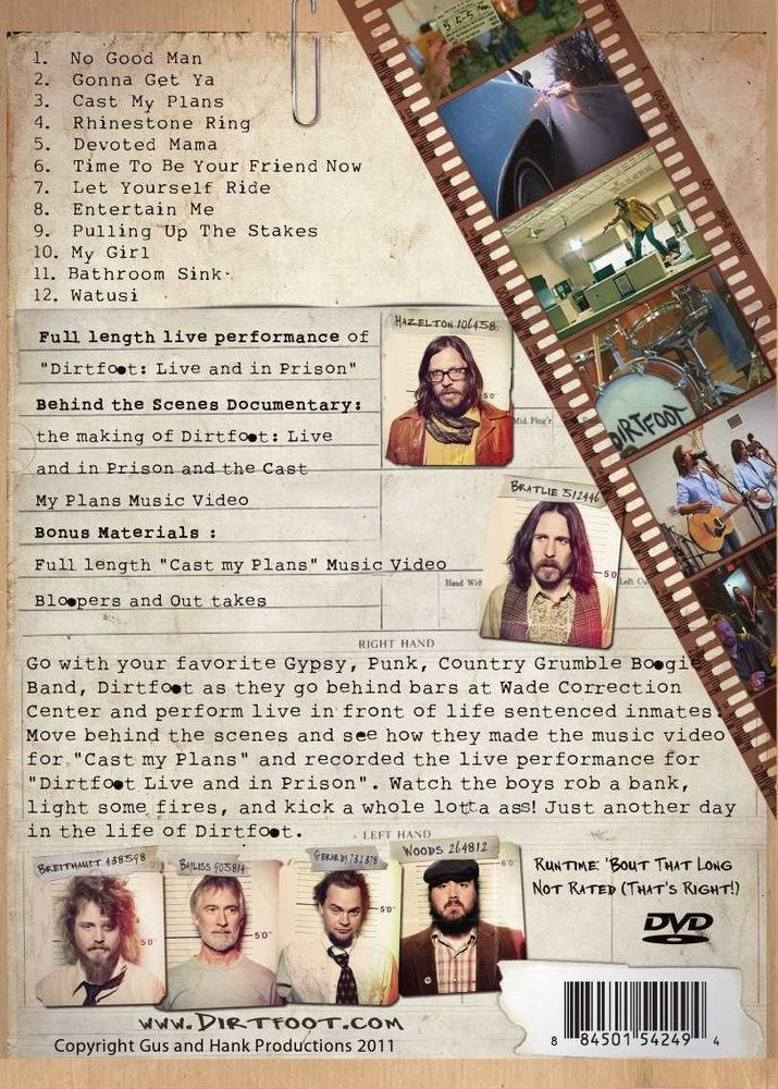 Image of Live and In Prison - DVD